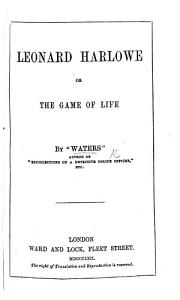 The Game of Life  By  Waters   The preface is signed C  Waters