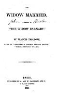 The Widow Married PDF