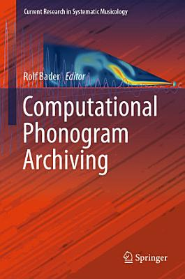 Computational Phonogram Archiving PDF