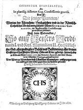 Cassander evangelicus: d.i. Puncten, worinn Georgius Cassander die Augspurgische Confession mit gutem Grund gebillichet
