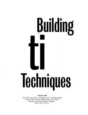 Building Evaluation Techniques PDF