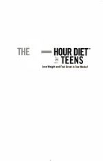 The 3-Hour Diet for Teens