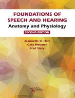 Foundations of Speech and Hearing PDF
