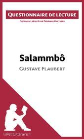Salammbô de Gustave Flaubert: Questionnaire de lecture