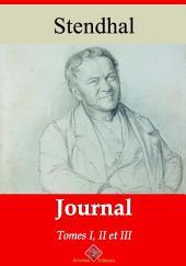 Journal tome I, II et III: Nouvelle édition augmentée