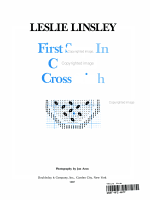 First Steps in Counted Cross Stitch