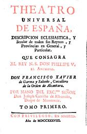 Theatro universal de España: Volumen 1