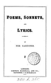 Poems, Sonnets, and Lyrics