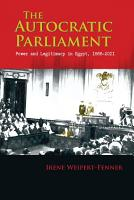 The Autocratic Parliament PDF