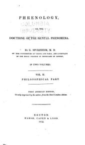 Phrenology: Philosophical part