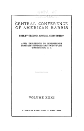 Annual Convention: Volumes 31-32