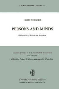 Persons and Minds PDF