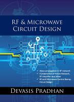 RF   Microwave Circuit Design PDF