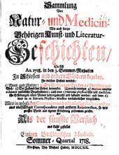 Sammlung von Natur- und Medicin- wie auch hierzu gehörigen Kunst- und Literatur-Geschichten so sich von 1717-26 in Schlesien und anderen Orten begeben ... und als Versuch ans Licht gestellet: Band 5