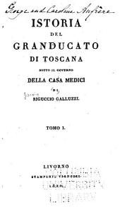 Istoria del granducato di Toscana: sotto il governo della casa Medici, Volume 1