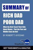 Summary of Rich Dad Poor Dad Book