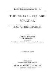 The Sloane Square Scandal And Other Stories Book PDF