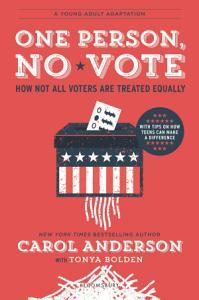 One Person  No Vote  YA edition  Book
