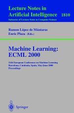 Machine Learning: ECML 2000
