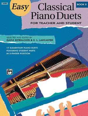 Easy Classical Piano Duets for Teacher and Student  Book 2