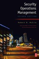 Security Operations Management PDF