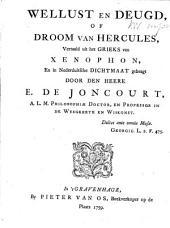 Wellust en deugd, of Droom van Hercules