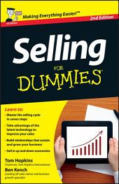 Selling For Dummies: Edition 2