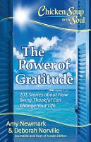 Chicken Soup for the Soul  The Power of Gratitude PDF