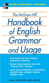The McGraw Hill Handbook of English Grammar and Usage PDF