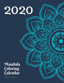Mandala Coloring Calendar 2020