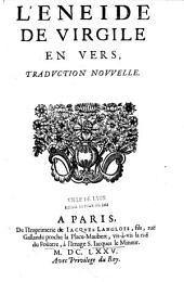 L'Eneide de Virgile en vers, traduction nouvelle