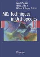 MIS Techniques in Orthopedics PDF
