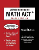 Ultimate Guide to the Math ACT Book