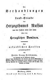 Beiträge zur Kenntnisz des Herzogthums Nassau: Band 2