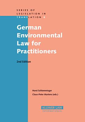 German Environmental Law for Practitioners PDF