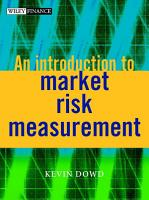An Introduction to Market Risk Measurement PDF