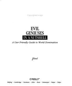 Evil Geniuses in a Nutshell PDF