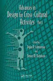 Advances in Design for Cross-Cultural Activities: Part 1