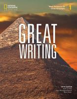 Great Writing 1  Great Sentences for Great Paragraphs PDF