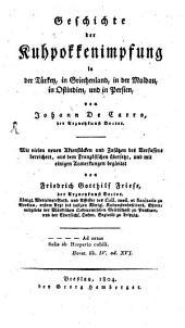 Geschichte der Kuhpokkenimpfung