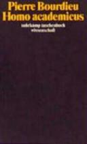 Homo academicus PDF