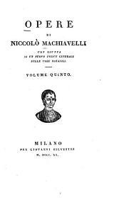 Opere: con giunta di un nuovo indice generale delle cose notabili, Volume 5