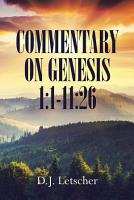 Commentary On Genesis 1 1 11 26 PDF