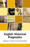 English Historical Pragmatics PDF