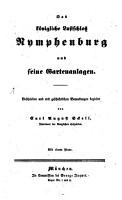 Das k  nigliche Lustschlo   Nymphenburg und seine Gartenanlagen PDF