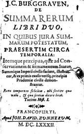 De Summa rerum: Libri duo