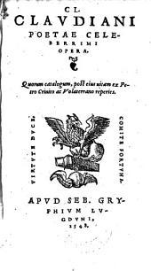Opera. - Lugduni, Seb. Gryphius 1548