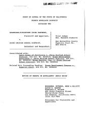 California. Court of Appeal (4th Appellate District). Division 2. Records and Briefs: E008691, Errata to Appellant's Reply