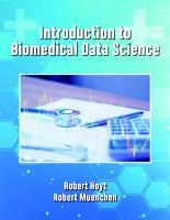 Introduction to Biomedical Data Science PDF