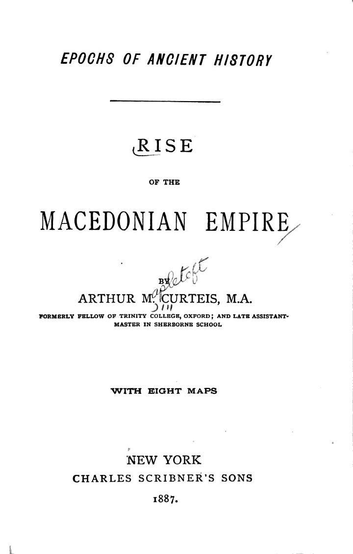 Rise of the Macedonia Empire